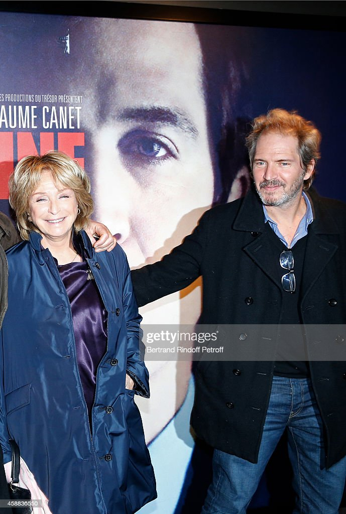 Director Daniele Thompson and her son actor Christopher Thompson attend the 'La prochaine fois, je viserai le coeur' Paris Premiere at UGC Cine Cite Bercy on November 11, 2014 in Paris, France.