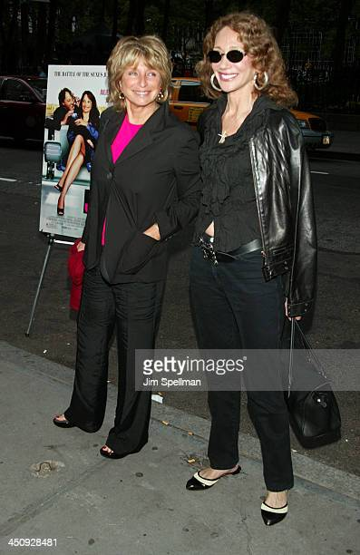 Director Daniele Thompson and Marisa Berenson during Jet Lag Premiere New York at Bryant Park Screening Room in New York City New York United States