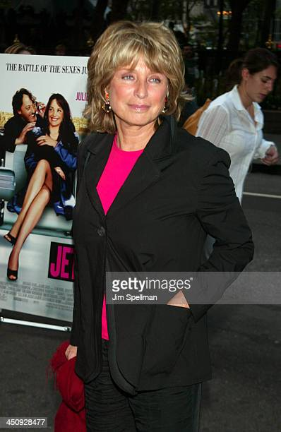 Director Daniele Thompson during Jet Lag Premiere New York at Bryant Park Screening Room in New York City New York United States