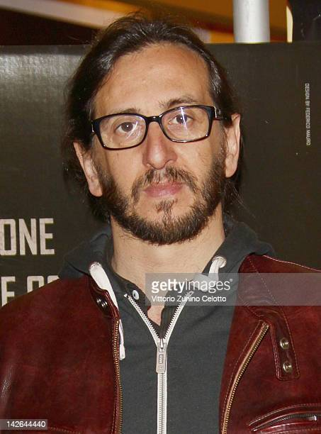 Director Daniele Vicari attends 'Diaz Don't Clean Up This Blood' premiere on April 10 2012 in Milan Italy
