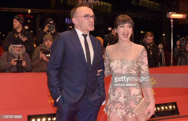 Director Danny Boyle and actress Anjela Nedyalkova arrive for the premiere of the movie 'T2 Trainspotting' at the 67th International Berlin Film...