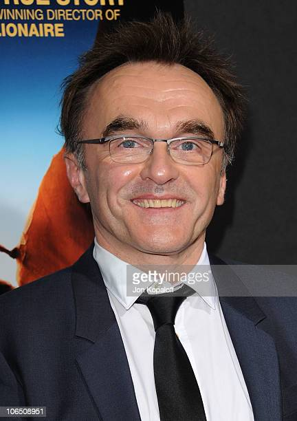 Director Danny Boyle arrives at the Los Angeles Premiere 127 Hours at AMPAS Samuel Goldwyn Theater on November 3 2010 in Beverly Hills California