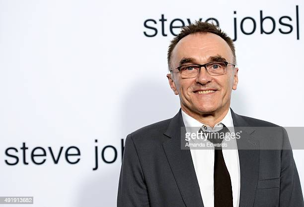 Director Danny Boyle arrives at the screening of Universal Pictures' 'Steve Jobs' on October 8 2015 in Los Angeles California