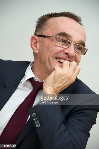 Director Danny Boyle at the 'Trance' Press Conference at the Four Seasons Hotel on March 15 2013 in Beverly Hills California