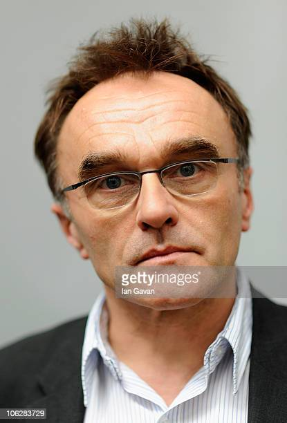 Director Danny Boyle attends a portrait session for '127 Hours' during the 54th BFI London Film Festival at the Vue West End on October 28 2010 in...