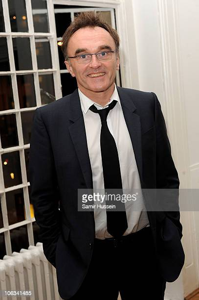 Director Danny Boyle attends the '127 Hours' After Party during the closing gala of the 54th BFI London Film Festival at One Marylebone on October 28...