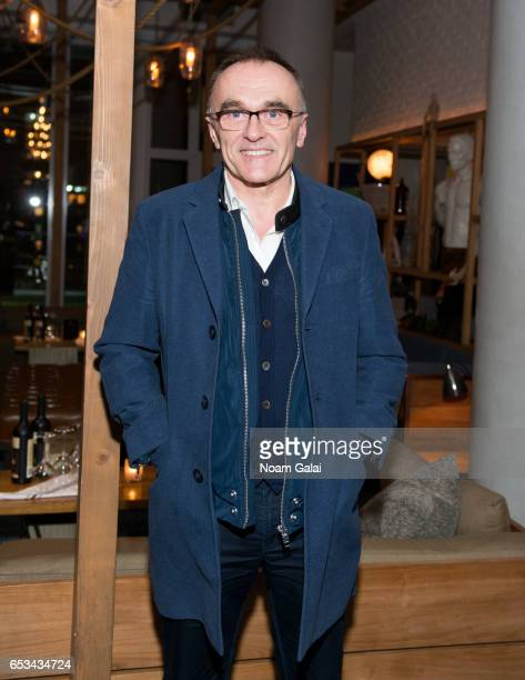 Director Danny Boyle attends the after party for 'T2 Trainspotting' hosted by TriStar Pictures and The Cinema Society with 19 Crimes at Mr Purple on...