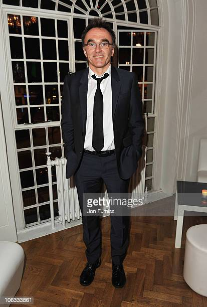 Director Danny Boyle attends the after party for the European Premiere of '127 Hours' during the closing gala of the 54th BFI London Film Festival at...