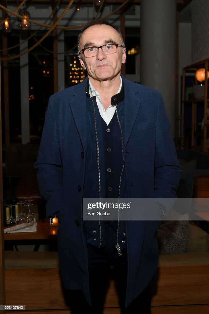 Director Danny Boyle attends the after party for the TriStar and Cinema Society screening of 'T2 Trainspotting' at Mr. Purple at the Hotel Indigo LES on March 14, 2017 in New York City.