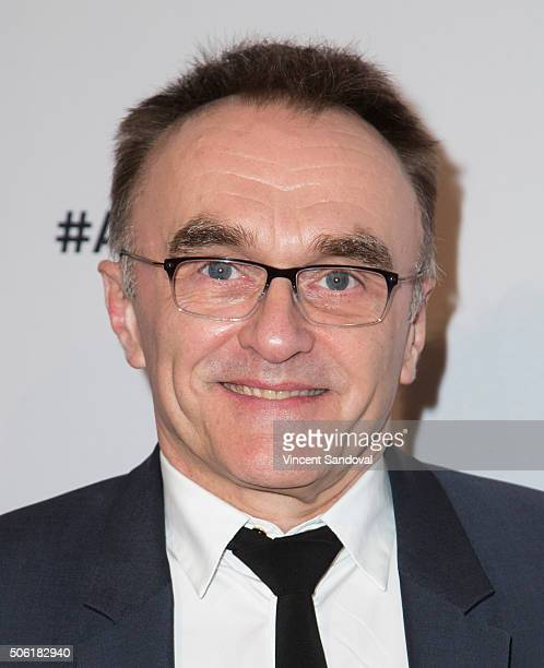 Director Danny Boyle attends the Casting Society of America's 31st Annual Artios Awards at The Beverly Hilton Hotel on January 21 2016 in Beverly...