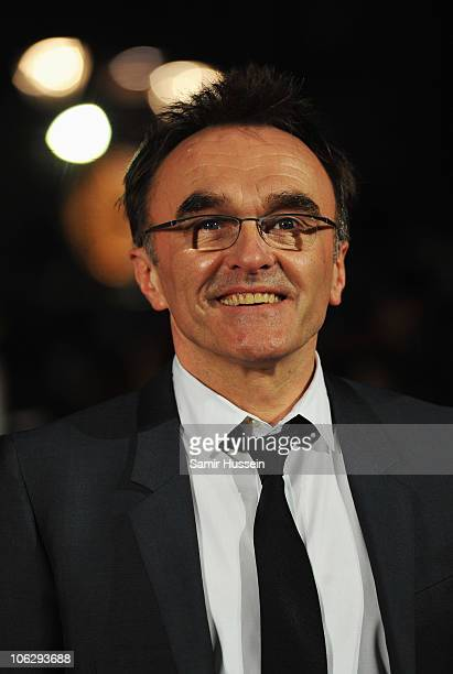 Director Danny Boyle attends the European Premiere of '127 Hours' during the closing gala of the 54th BFI London Film Festival at the Odeon Leicester...