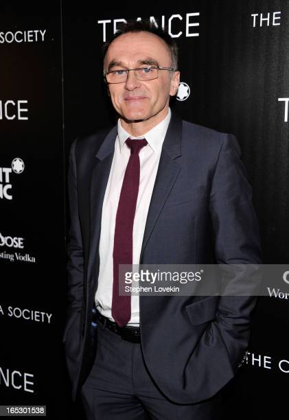 Director Danny Boyle attends the premiere of Fox Searchlight Pictures' Trance hosted by The Cinema Society Montblanc at SVA Theater on April 2 2013...
