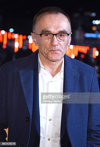 Director Danny Boyle attends the 'T2 Trainspotting' world premiere on January 22 2017 in Edinburgh United Kingdom