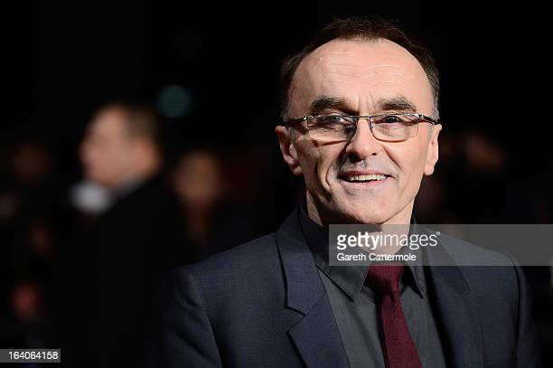 Director Danny Boyle attends the UK Film Premiere of 'Trance' at Odeon West End on March 19 2013 in London England