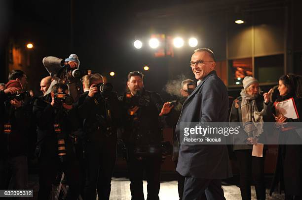 Director Danny Boyle attends the World Premiere of T2 Trainspotting at Cineworld on January 22, 2017 in Edinburgh, United Kingdom.