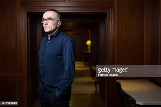 Director Danny Boyle is photographed for The Hollywood Reporter on February 13 2017 in Berlin Germany