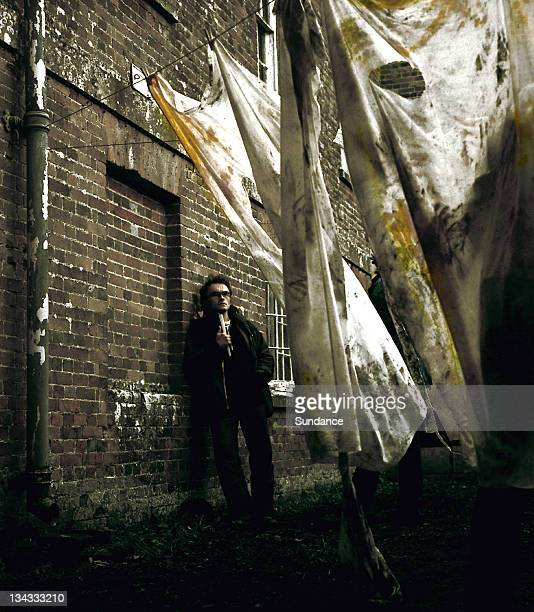 Director Danny Boyle on the set of '28 Days Later'
