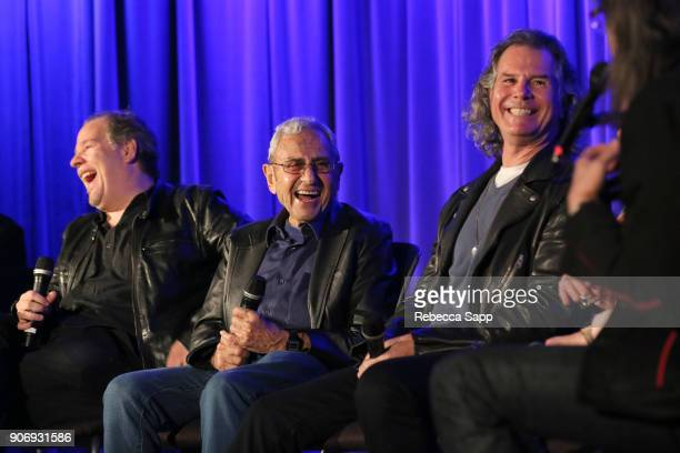 Director Danny Gold producer George Shapiro and guitarist/composer Terry Wollman speak to GRAMMY Museum Executive Director Scott Goldman at Reel to...
