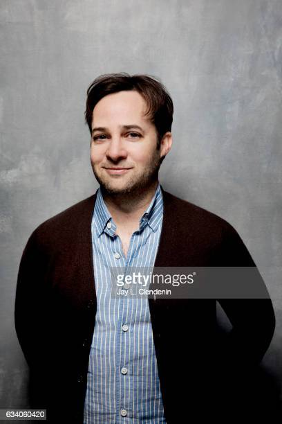 Director Danny Strong from the film Rebel in the Rye is photographed at the 2017 Sundance Film Festival for Los Angeles Times on January 24 2017 in...