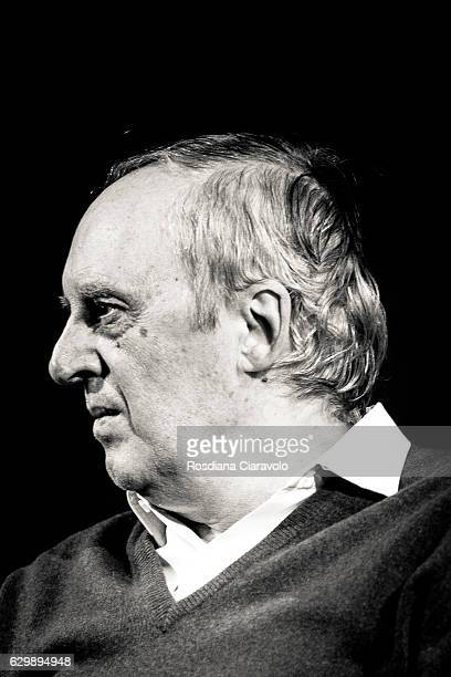 Director Dario Argento meets the audience during the Noir In Festival on December 14 2016 in Milan Italy