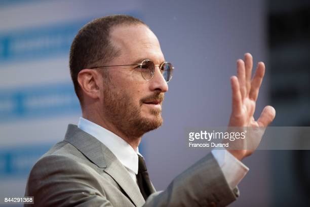 Director Darren Aronofsky arrives at the screening for 'mother' during the 43rd Deauville American Film Festival on September 8 2017 in Deauville...