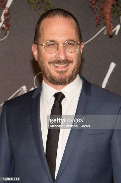 Director Darren Aronofsky attends the French Premiere of 'mother' at Cinema UGC Normandie on September 7 2017 in Paris France