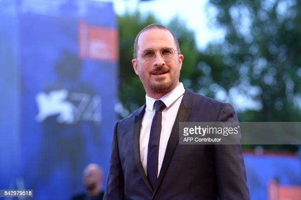 Director Darren Aronofsky attends the premiere of the movie 'Mother' presented in competition at the 74th Venice Film Festival on September 5 2017 at...