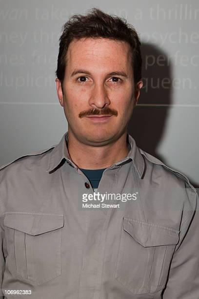 Director Darren Aronofsky visits the Apple Store Soho on November 18 2010 in New York City
