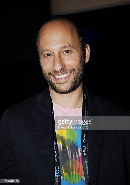 Director Darren Stein attends the after party for the Seattle International Film Festival premiere of 'GBF' at Q Lounge on June 5 2013 in Seattle...