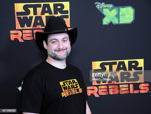 "Director Dave Filoni arrives for Disney XD's ""Star Wars Rebels: Spark Of Rebellion"" - Los Angeles Special Screening held at AMC Century City 15..."