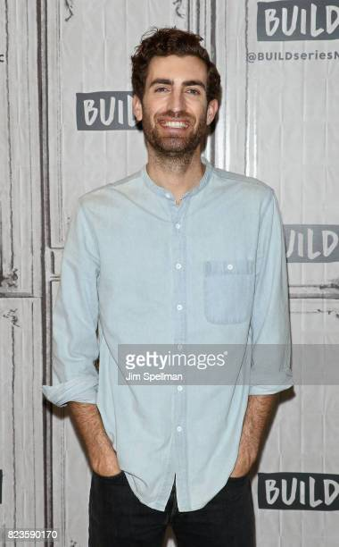 Director Dave McCary attends Build to discuss the new movie Brigsby Bear at Build Studio on July 27 2017 in New York City