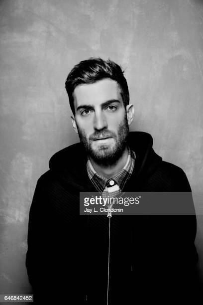 Director Dave McCary from the film Brigsby Bear is photographed at the 2017 Sundance Film Festival for Los Angeles Times on January 24 2017 in Park...