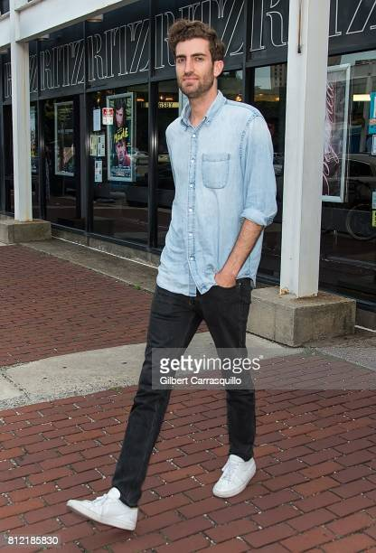 Director Dave McCary is seen leaving the 'Brigsby Bear' Philadelphia Screening at Ritz Five on July 10 2017 in Philadelphia Pennsylvania