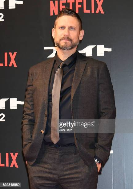 Director David Ayer attends the premier event of 'Bright' at Roppongi Hills on December 19, 2017 in Tokyo, Japan.