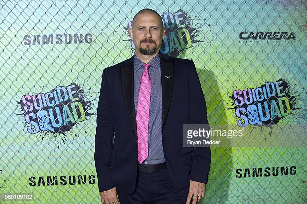 Director David Ayer attends the Suicide Squad premiere sponsored by Carrera at Beacon Theatre on August 1, 2016 in New York City.
