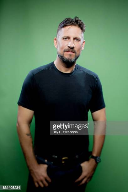 """Director David Ayer, from the film """"Bright,"""" is photographed in the L.A. Times photo studio at Comic-Con 2017, in San Diego, CA on July 20, 2017...."""
