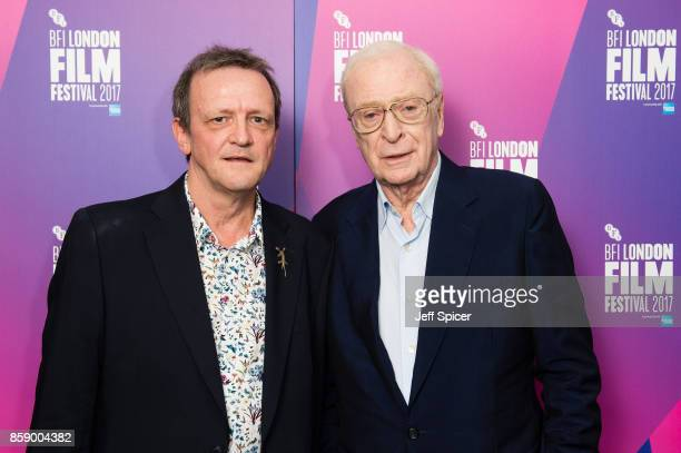 Director David Batty and Michael Caine attend a screening of 'My Generation' during the 61st BFI London Film Festival on October 8 2017 in London...