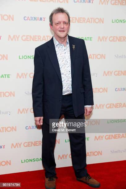 Director David Batty attends a special screening of 'My Generation' at the BFI Southbank on March 14 2018 in London England