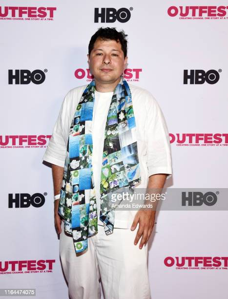 Director David Charles Rodrigues arrives at the 2019 Outfest Los Angeles LGBTQ Film Festival Screening of Gay Chrous Deep South at the Ford Theatre...