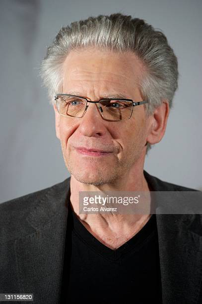 Director David Cronenberg attends Un Metodo Peligroso photocall at Santo Mauro Hotel on November 2 2011 in Madrid Spain