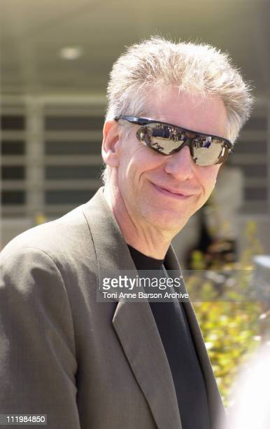 """Director David Cronenberg during Cannes 2002 - """"Spider"""" - Photo Call at Palais des Festivals in Cannes, France."""