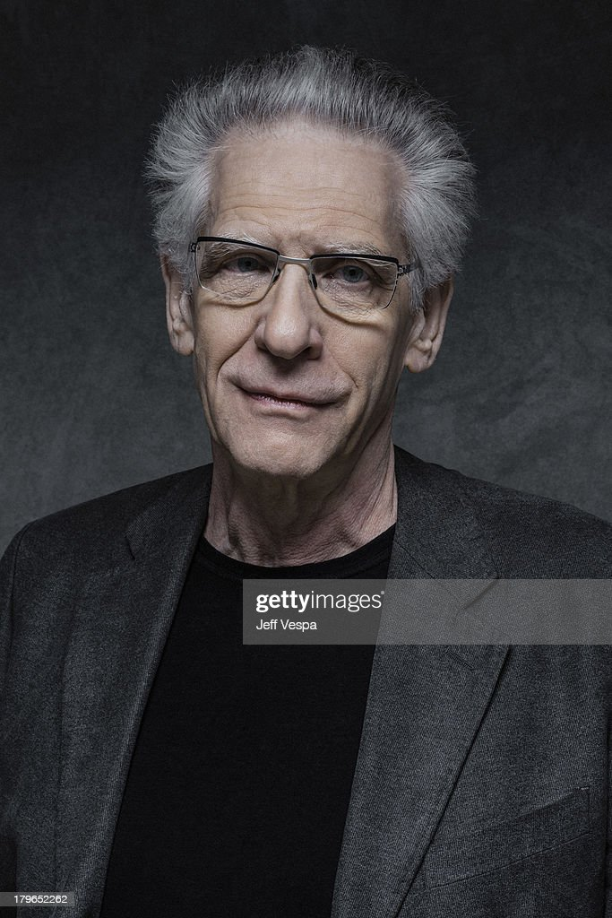 Director David Cronenberg is photographed at the Toronto Film Festival on September 5, 2013 in Toronto, Ontario.