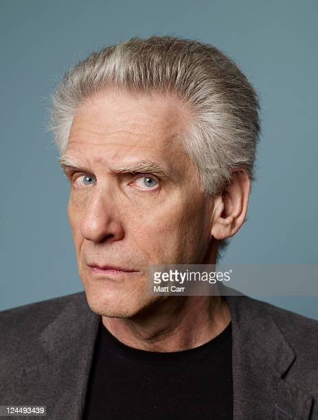 Director David Cronenberg of A Dangerous Method poses for a portrait during the 2011 Toronto Film Festival at the Guess Portrait Studio on September...
