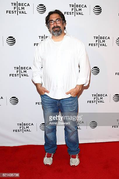 Director David Feige attends Untouchable Premiere 2016 Tribeca Film Festival at Chelsea Bow Tie Cinemas on April 15 2016 in New York City