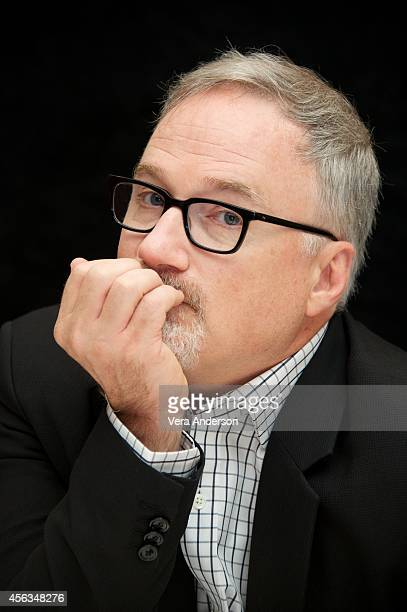 Director David Fincher at the 'Gone Girl' Press Conference at the Ritz Carlton Hotel on September 27 2014 in New York City