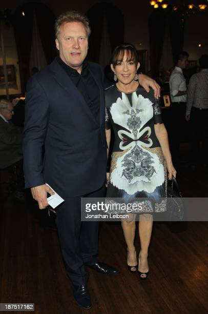 Director David Hunt and IMF Committee member Patricia Heaton attend the International Myeloma Foundation's 7th Annual Comedy Celebration Benefiting...