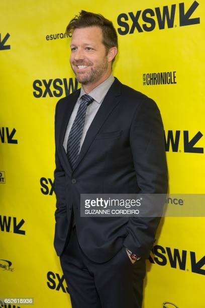 Director David Leitch arrives for the premiere of the film Atomic Blonde during The South by Southwest Film Conference held at the Paramount Theater...