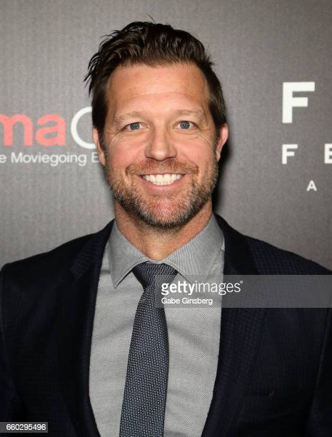 Director David Leitch attends Focus Features luncheon and studio program celebrating 15 Years during CinemaCon at The Colosseum at Caesars Palaceon...