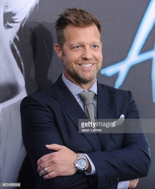 Director David Leitch attends the premiere of 'Atomic Blonde' at The Theatre at Ace Hotel on July 24 2017 in Los Angeles California