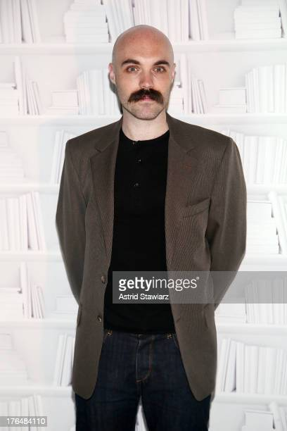 Director David Lowery attends Rooftop Films Presents Benh Zeitlin and David Lowery In Conversation at W New York Downtown on August 13 2013 in New...
